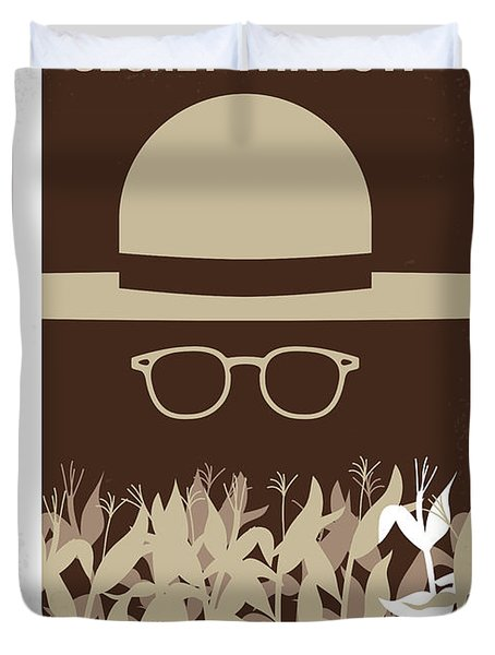 No830 My Secret Window Minimal Movie Poster Duvet Cover