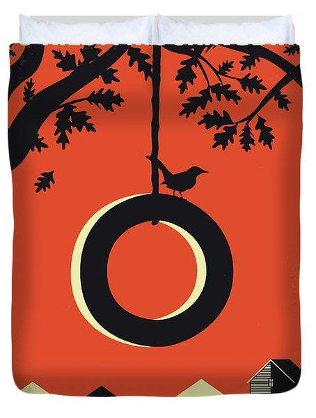 No844 My To Kill A Mockingbird Minimal Movie Poster Duvet Cover