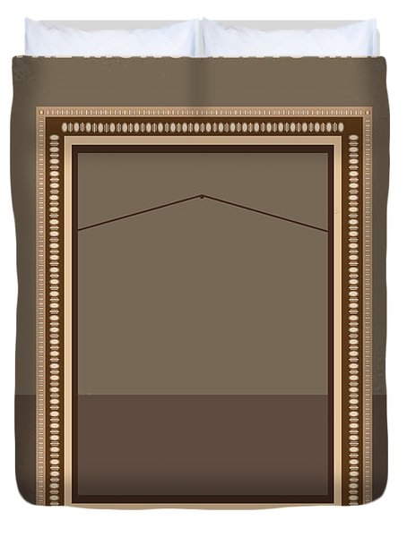 No845 My The Monuments Men Minimal Movie Poster Duvet Cover