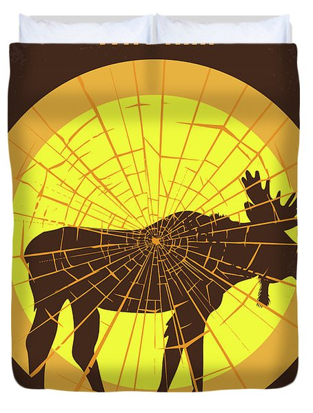 No859 My Why Him Minimal Movie Poster Duvet Cover