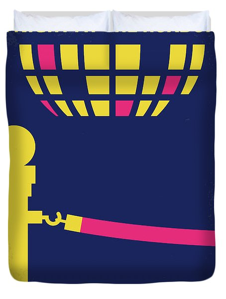 No864 My A Night At The Roxbury Minimal Movie Poster Duvet Cover
