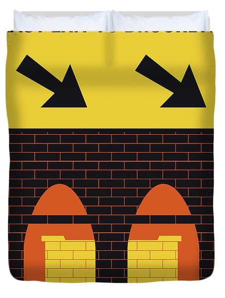 No879 My Last Exit To Brooklyn Minimal Movie Poster Duvet Cover