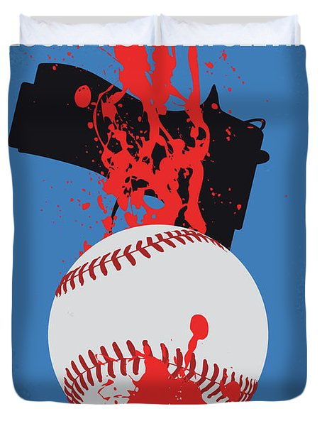 No880 My Lucky Number Slevin Minimal Movie Poster Duvet Cover