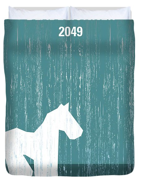 No881 My Blade Runner 2049 Minimal Movie Poster Duvet Cover