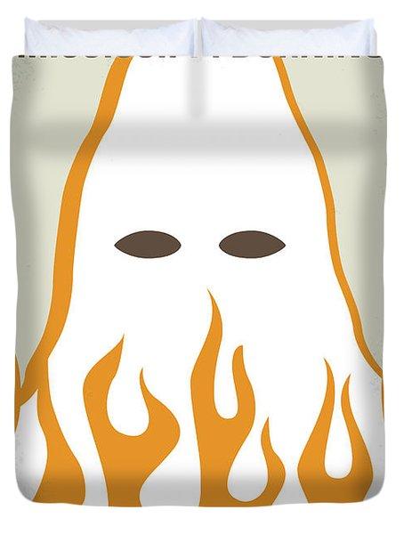 No882 My Mississippi Burning Minimal Movie Poster Duvet Cover