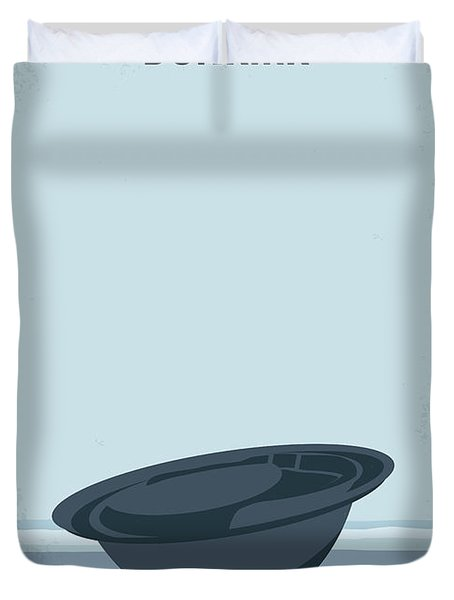 No905 My Dunkirk Minimal Movie Poster Duvet Cover
