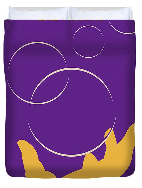 No928 My Labyrinth Minimal Movie Poster Duvet Cover
