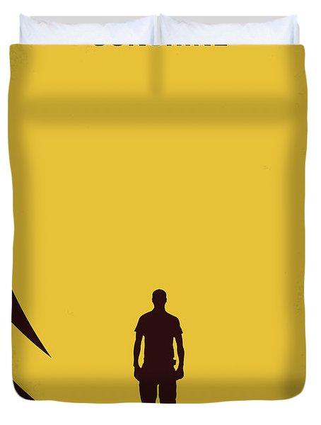 No947 My Sunshine Minimal Movie Poster Duvet Cover
