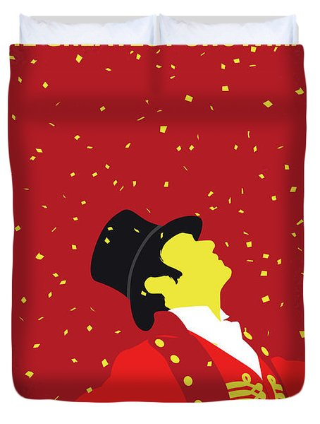 No965 My The Greatest Showman Minimal Movie Poster Duvet Cover