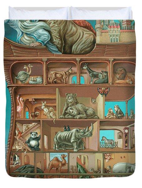 Noahs Arc Duvet Cover