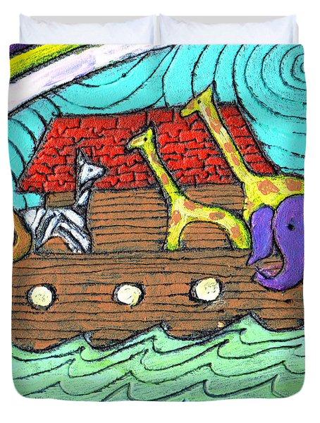 Noahs Ark Two Duvet Cover