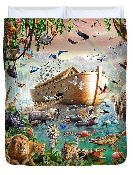 Noah's Ark Variant 1 Duvet Cover