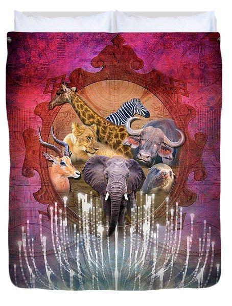 Noble Creatures Duvet Cover