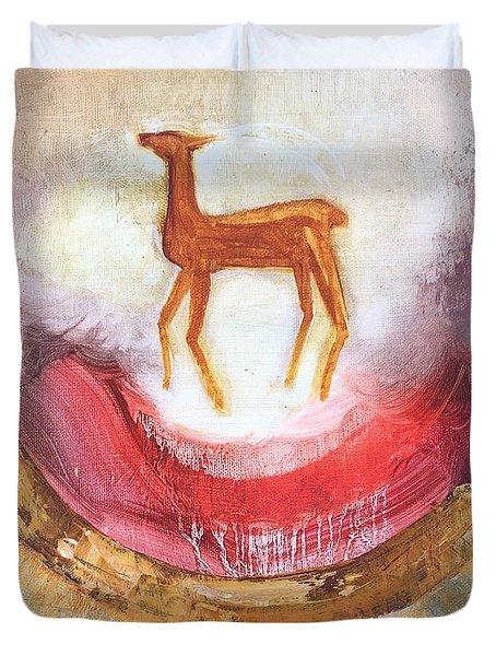 Noble Deer Duvet Cover