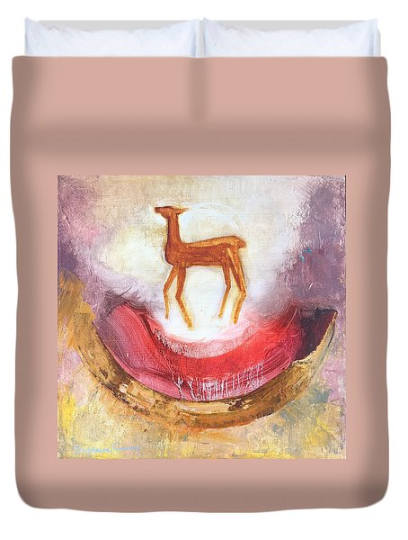 Noble Deer Duvet Cover