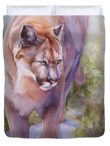 Noble Cougar Duvet Cover