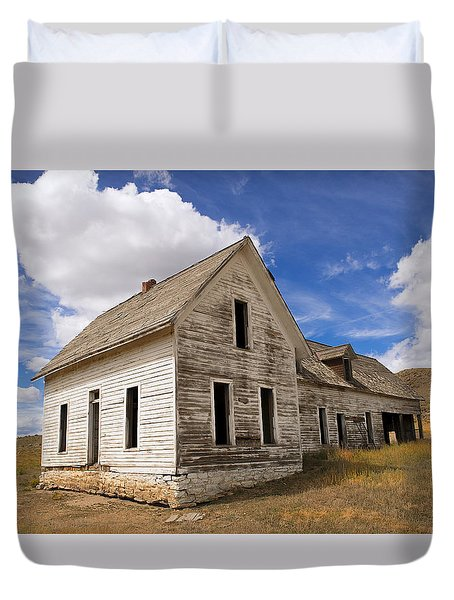 Nobody's Home Duvet Cover