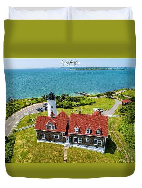 Nobska Light House  Duvet Cover