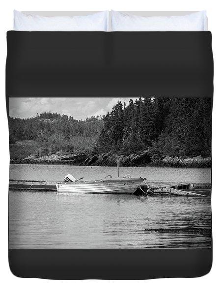 Noca Scotia In Black And White  Duvet Cover