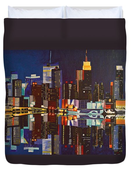 Nocturnal Arrangement Duvet Cover