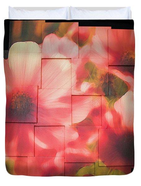 Nocturnal Pinks Photo Sculpture Duvet Cover
