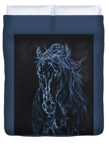 Nocturno Duvet Cover by Jana Goode