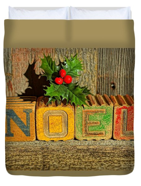 Duvet Cover featuring the photograph Noel 5 by Steven Clipperton