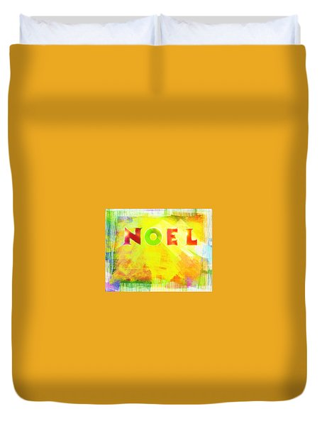 Duvet Cover featuring the photograph Noel by Jocelyn Friis