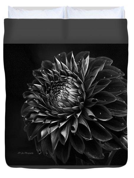 Noir Beauty Duvet Cover