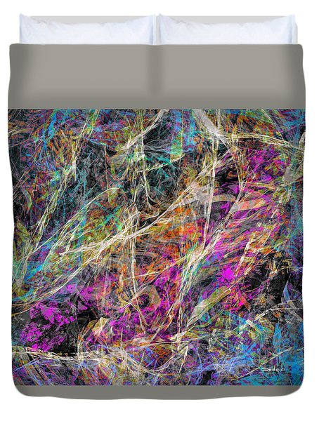 Noise No.3 Duvet Cover