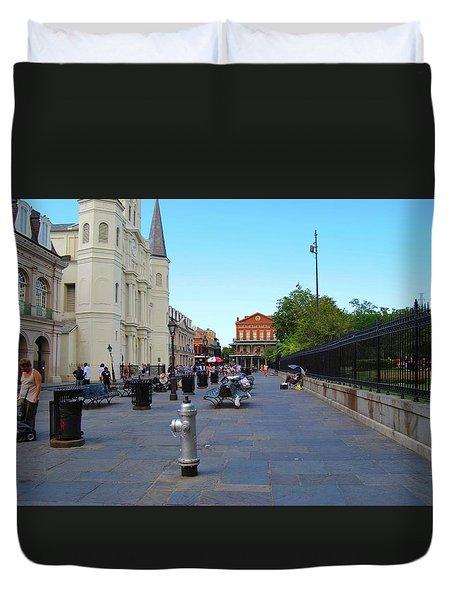Nola Jackson Square Duvet Cover