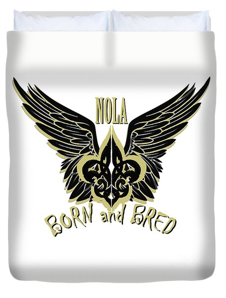 Nola Duvet Cover by Tbone Oliver
