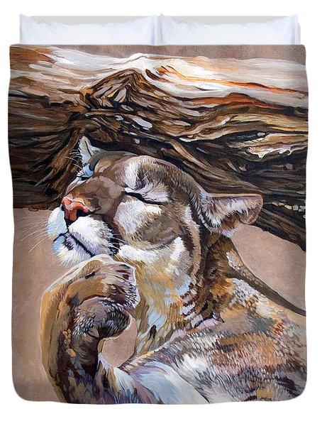 Nonchalant Duvet Cover by J W Baker