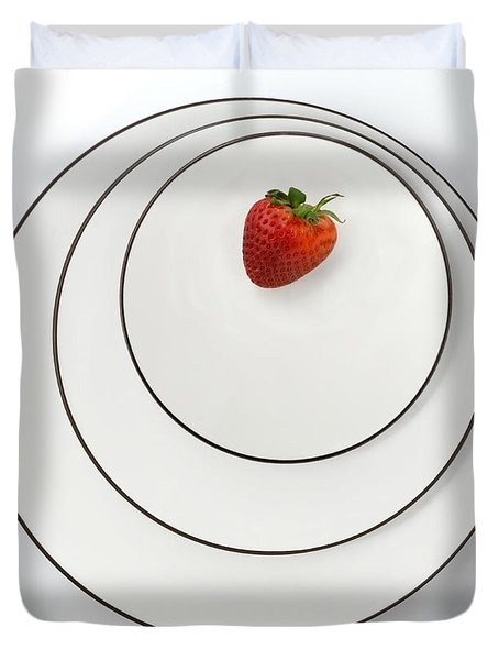 Nonconcentric Strawberry No. 2 Duvet Cover