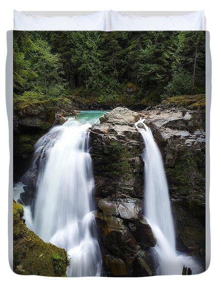 Nooksack Falls Duvet Cover