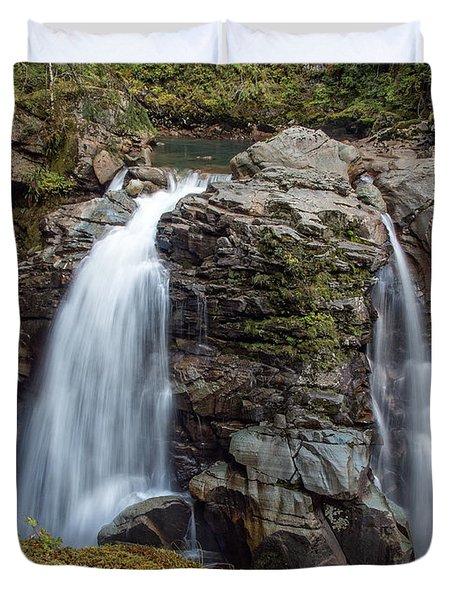 Nooksak Falls Duvet Cover