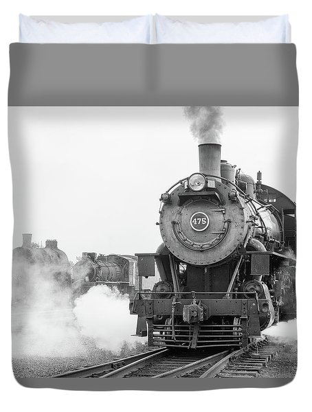 Norfolk And Western 475 Duvet Cover