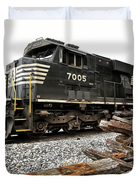 Norfolk Southern Duvet Cover