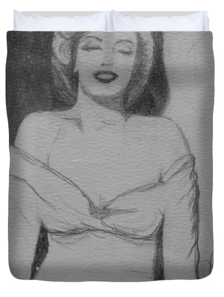 Norma Jean Duvet Cover