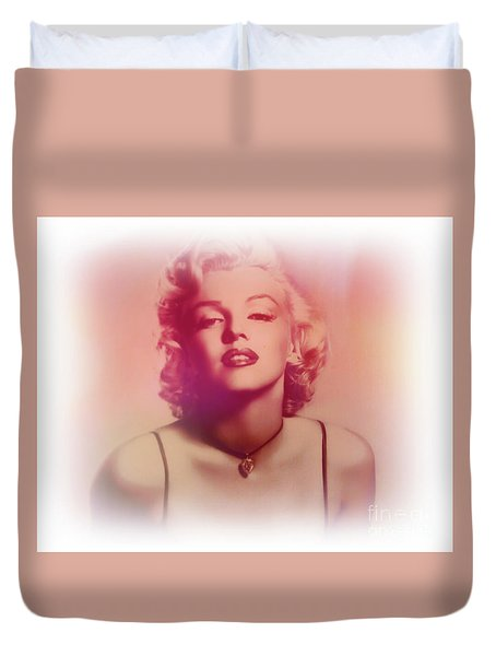 Norma Jeane Mortenson, Aka Marilyn IIi Duvet Cover by Al Bourassa