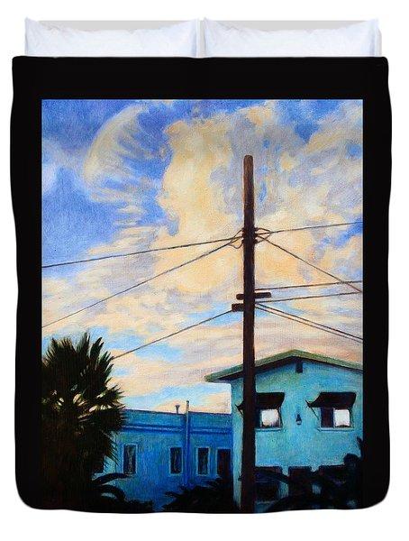 Normal Ave Duvet Cover by Andrew Danielsen