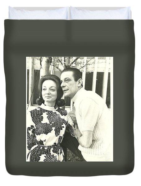 Norman Treigle And Linda Duvet Cover