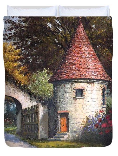 Normandy Garden Duvet Cover by Sean Conlon