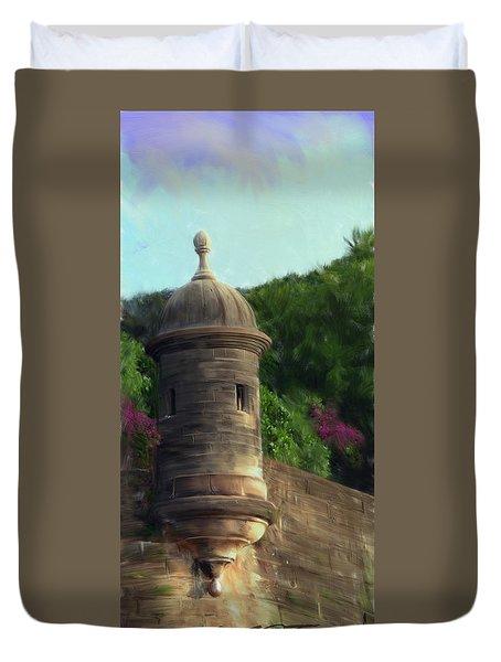 Norma's Pr Tower Duvet Cover