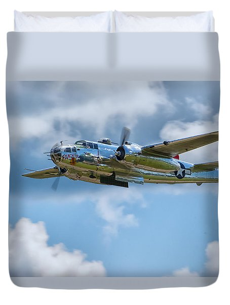North American B-25 Mitchell Duvet Cover