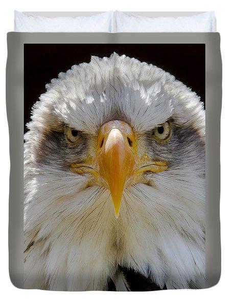 North American Bald Eagle  Duvet Cover