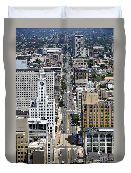 North Broad Street Duvet Cover