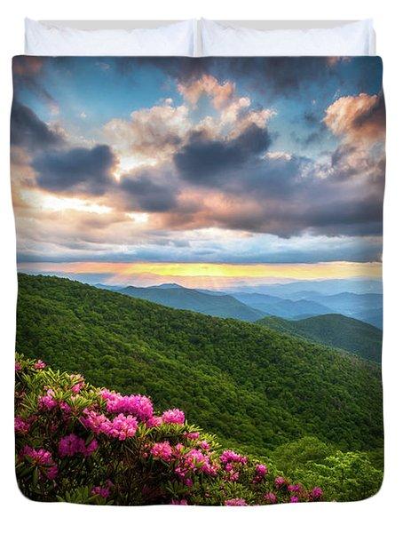 North Carolina Blue Ridge Parkway Scenic Landscape Asheville Nc Duvet Cover