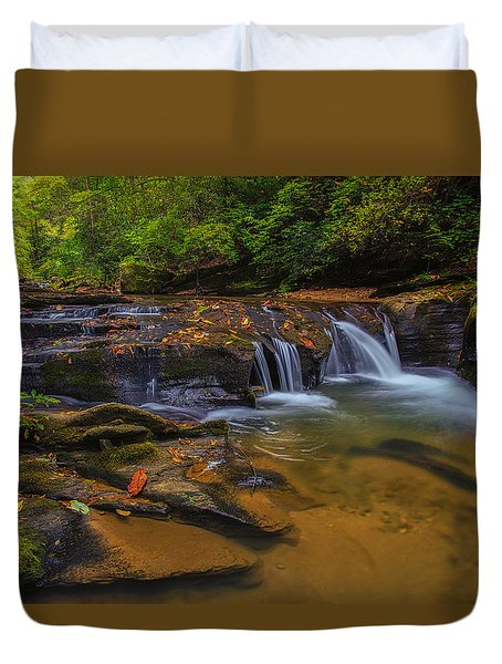 North Carolina Cascade Duvet Cover