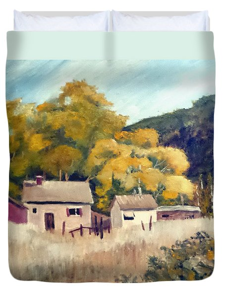 North Carolina Foothills Duvet Cover